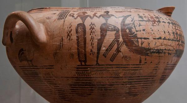 730 гг. До н.э. корабльТессей и Ариадна