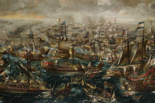 Andries-van-Eertvelt-1590-–-1652-The-Battle-of-Lepanto-Estimate