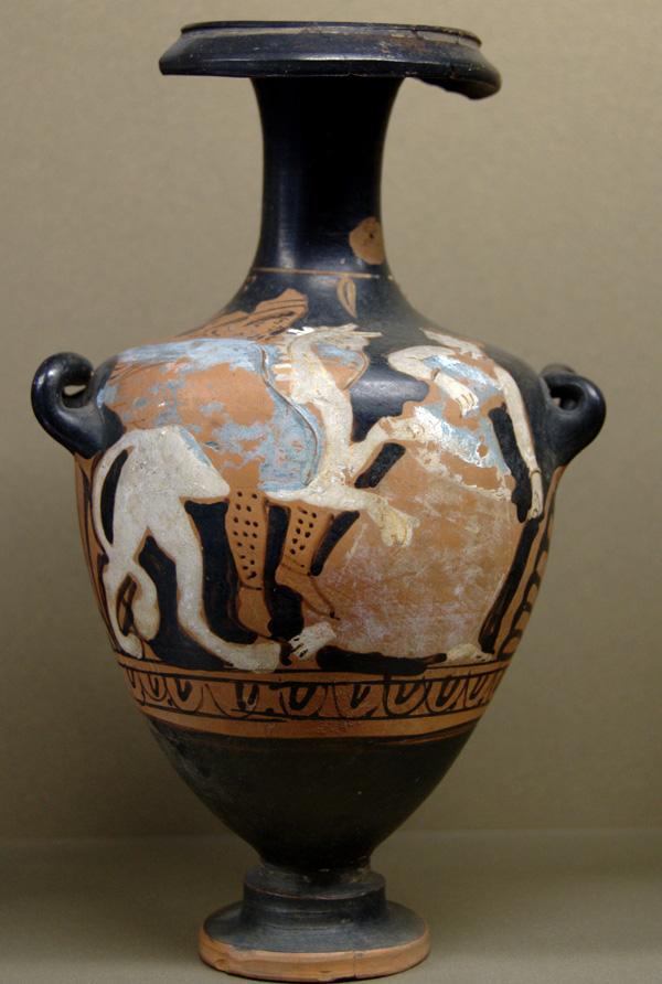 Arimaspos_griffin_woman_Louvre_-курган Куль-Оба(IVв.до н.э.