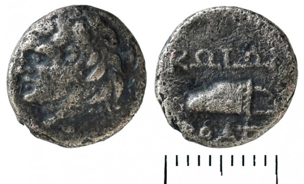 --klad-kos-07Монета города Кос