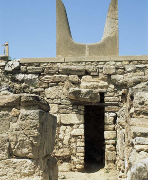 knossos-рога-crete-быка