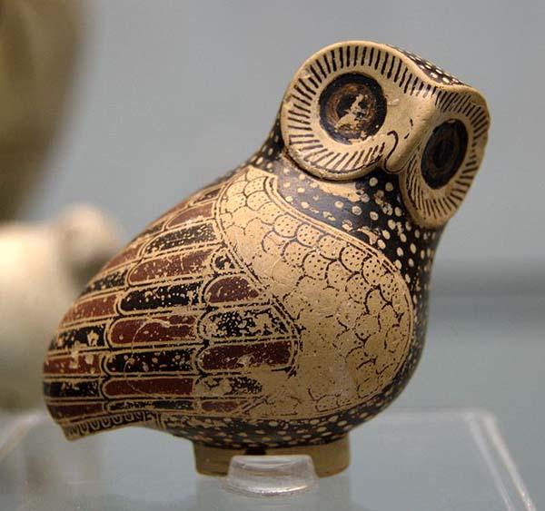 Арибал в форме совы, VII век до н. э.Коринф