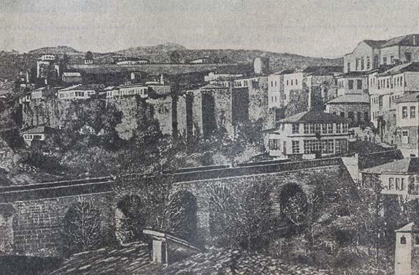 Вид освобожд. от турок Трапезунда. 1916 год. из Журнала  Нива 25-1916