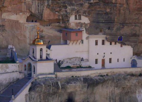 Свято-Успенский монастырь в Бахчис.