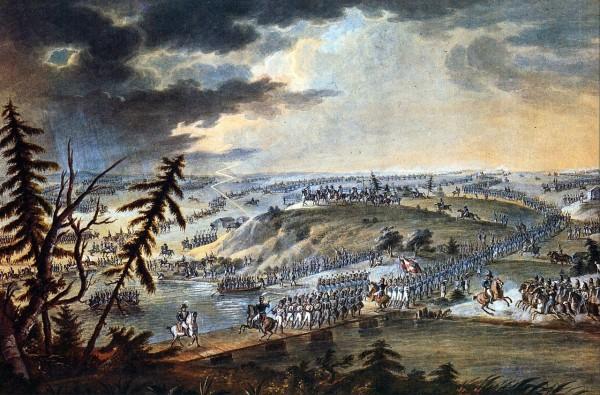 Переправа наполеоновской армии через Неман.Napoleon_Neman
