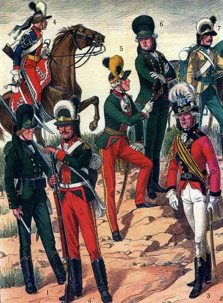 1786—1796 гг. 2.Мушкетер армейской пехоты