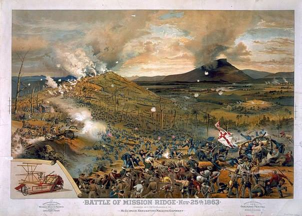 1863-Битва при Чаттануге