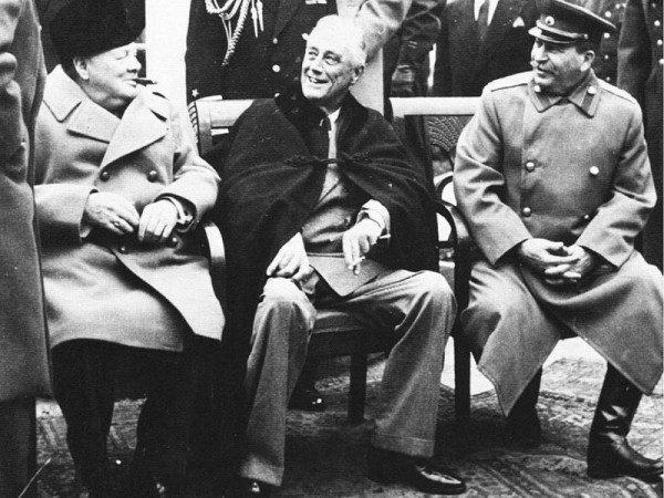 1945, Yalta Conference-