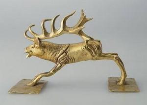 2400 лет назад в Иран,олень-рога