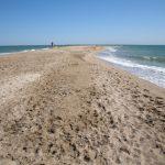 Бакальская песчаная коса в Крыму исчезает