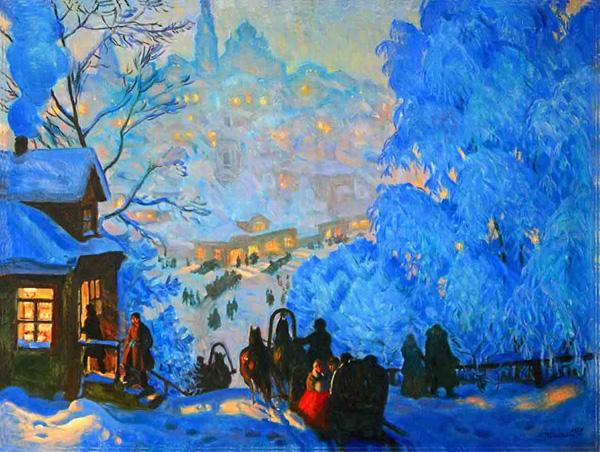 Борис Михайлович Кустодиев (1878-1927)--
