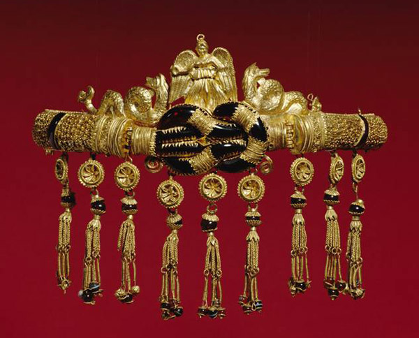 Золотой диадема из Черного моря