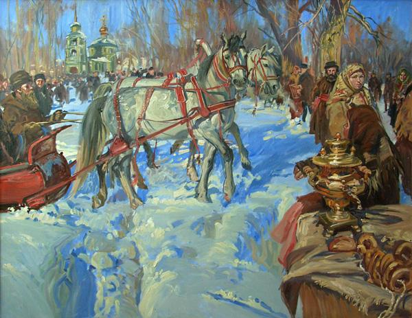 Игорь Шаймарданов. Псковская Масленица.