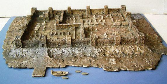 Саркел-макет крепости
