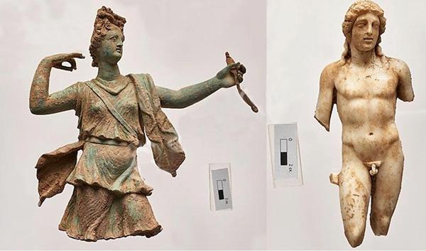 Статуи Артемиды и Аполлона из Аптеры