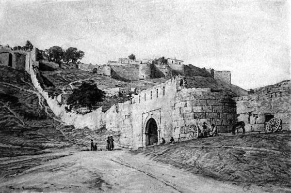 дербент-старая крепость