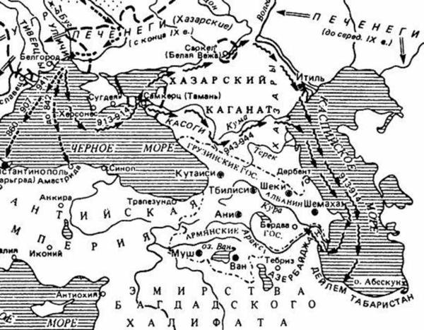 карта=хазары-крым