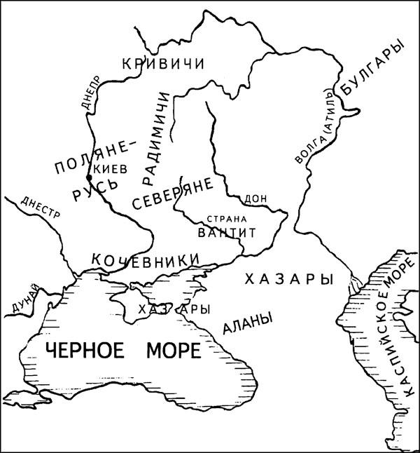 карта-хазары-