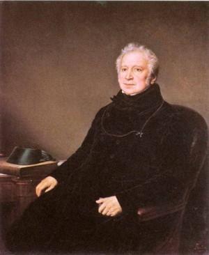 Портрет графа Г.А.Строганова, худ. Штейнбен