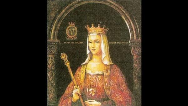 1- Анной Ярославной