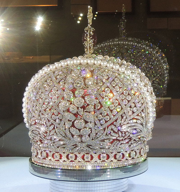 Большая Имп. Корона. Копия компании-Смоленские бриллианты- 2012