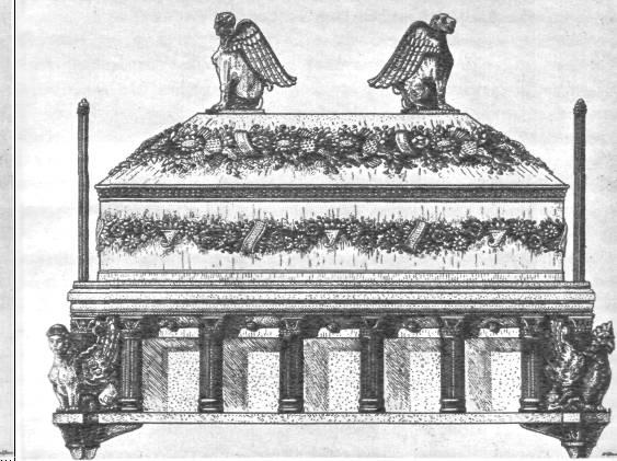 Саркофаг царицы. неаполь скифский