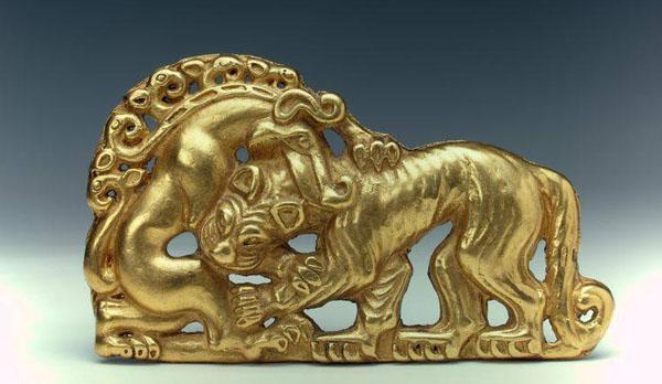 лев-олень- 550 BC.