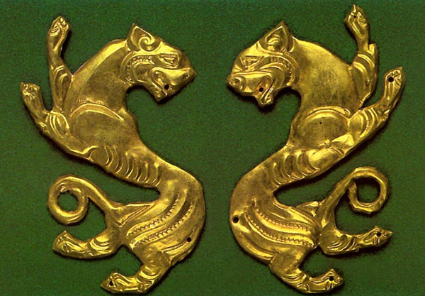 тигры-5-4 вв. до н.э.