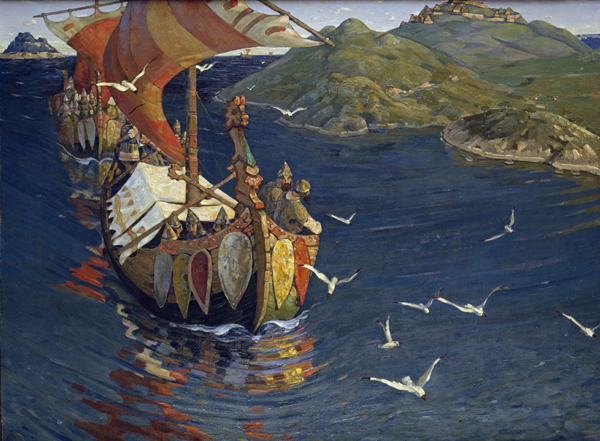 худ.Nicholas_Roerich,_Guests_from_Overseas