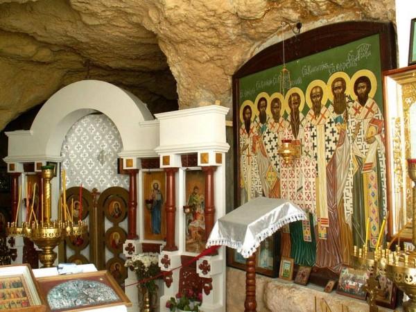 внутр убранство Пещерный храм рождества христова