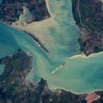 Крымский мост заметен из космоса
