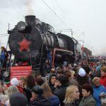 13 апреля 2016. Поезд Победы, Евпатория