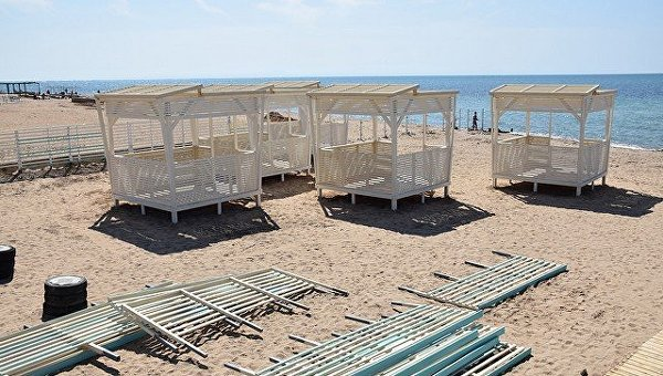 1-пляж=