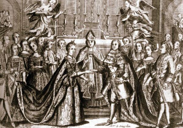 Свадьба Людовика XVI и Марии Антуанетты.