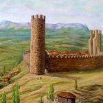 Крепость Алустон в Крыму
