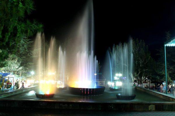 светомуз-фонтан