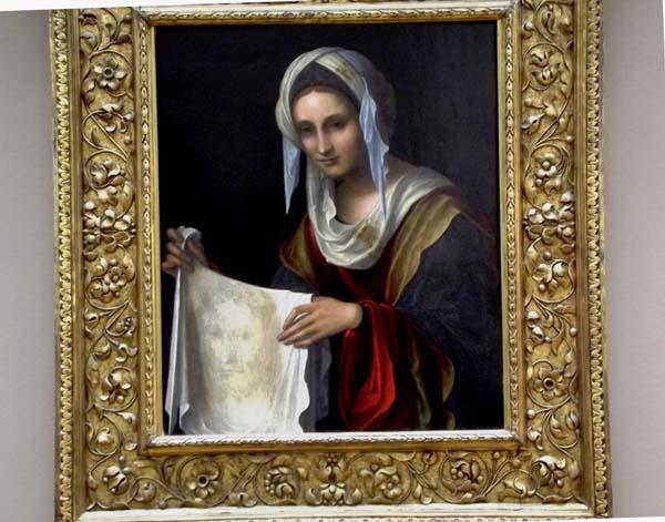 1св.вераника-лувр-Лоренцо Коста (1460 – 1535 гг.).