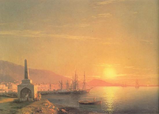 1-Восход солнца в Феодосии.