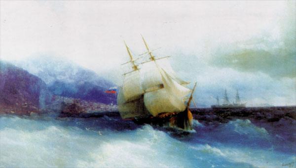 1-Trapezund- Aivazovsky