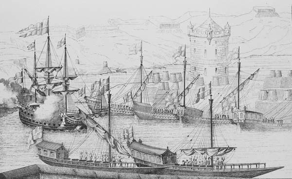 1696-Взятие Азова, корабль Апостол Петр