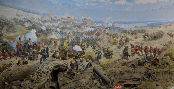 1696-Штурм Азова 18 июля 1696 года.
