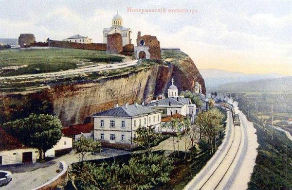 Инкерманском монастыре