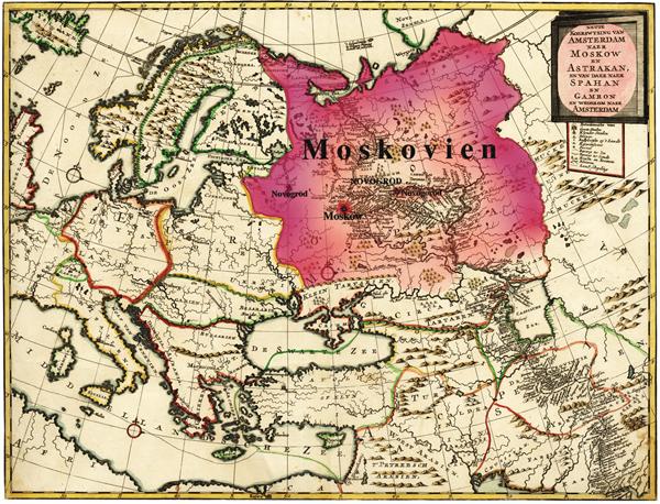 карта-московия