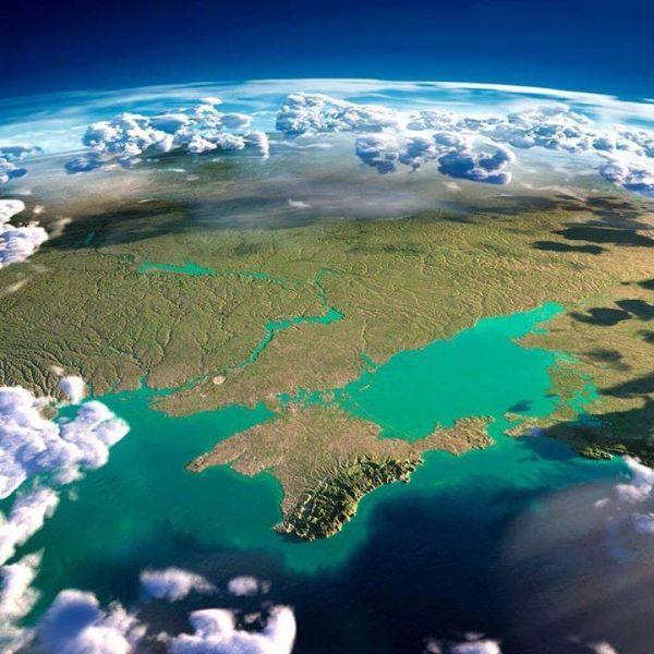 Крым - вид из космоса