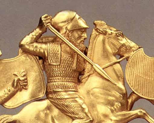 1-гребень-грек в коринфском шлеме