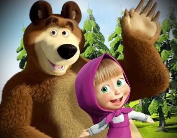 1-маша и медведь