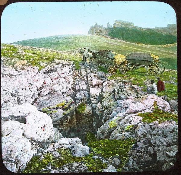 1-татарская арба в горах