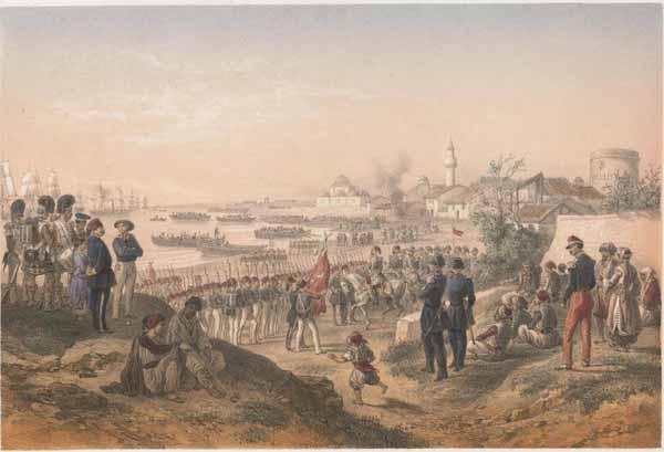 1855-evpatoriz-vysadka-tureckoj-armii-omer-pashi