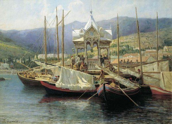 1-port-v-yalte-1890-g-g-myasoedov
