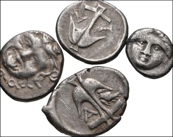Греческие серебряные монеты. Аполлония Понтийская.